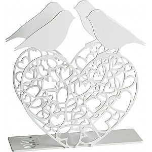 Napkin Holder Bird Heart