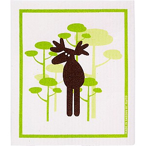 Dish Cloth Moose