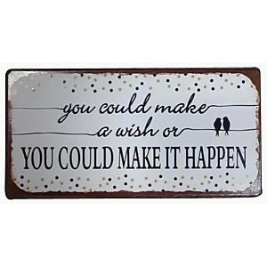 Magnet/Kylskåpsmagnet Make it happen