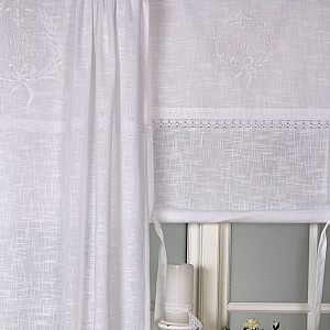 Roman Blind Emmy White