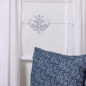 Roman Blind Frida Blue