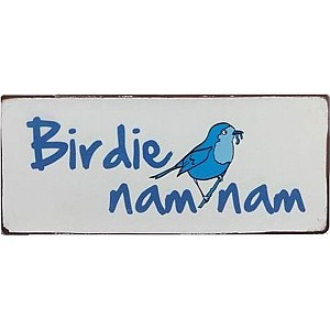 Tin Sign Birdie nam nam