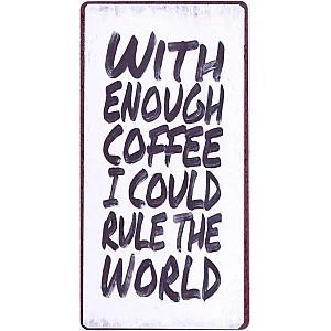 Magnet/Kylskåpsmagnet With enough coffee