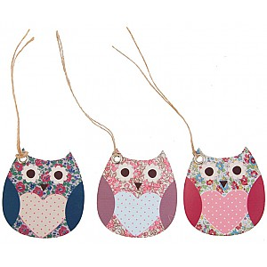 Gift Tags Owl