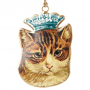 Cat with a crown
