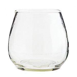 Vase / Pot in clear glass