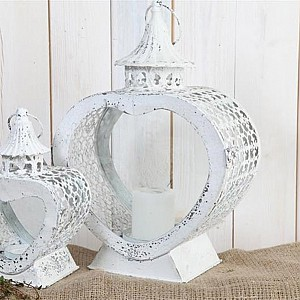Candle Holder Heart Large