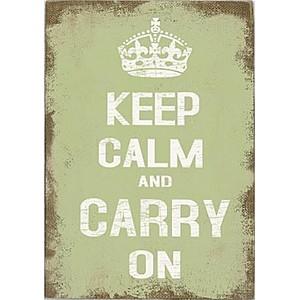Canvastavla Keep Calm