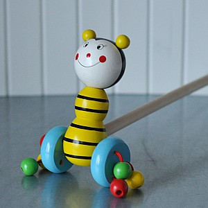 Pull Toy Bee