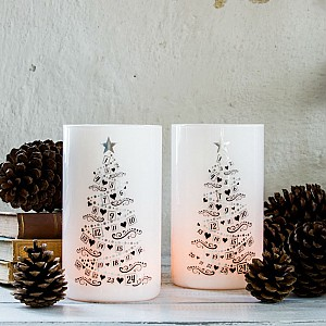 Candle Holder Christmas Calendar