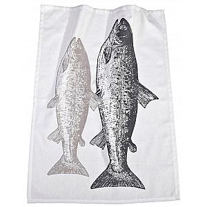 Kökshandduk Fisk