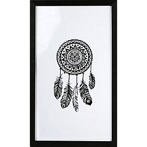 Picture Dream Catcher with black frame