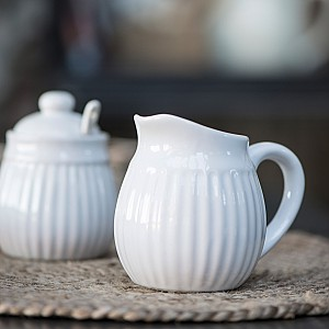 Gräddkanna Mynte - Pure White - Vit