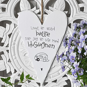 Wooden Heart Husvagnen