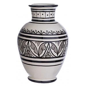 Marockansk Vas/Urna Tetouan Mellan