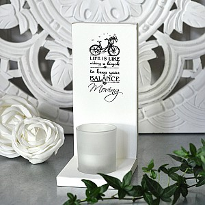 Candle Holder Wall Bicycle