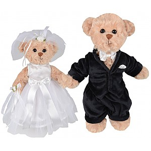 Wedding Pair Teddy Bears