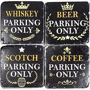 Coasters Whiskey Beer Scotch Coffee