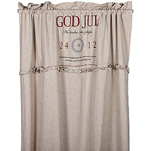 Grommet Top Curtains God Jul