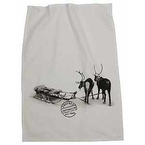 Tea Towel Reindeer
