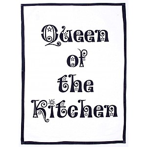 Tea Towel Queen of the kitchen