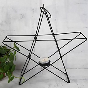 Candle Holder Wire Star