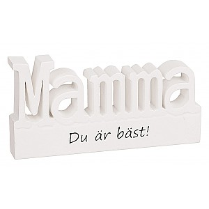 Sign Standing letters Mamma