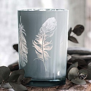 Majas Candle Holder Feathers