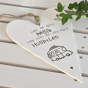 Wooden Heart Husbilen