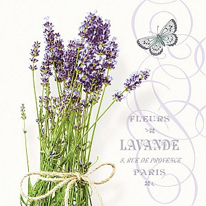 Napkins Bunch of Lavender