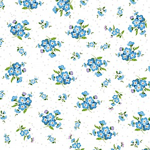 Napkins Forget Me Not