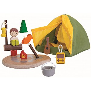Wooden Camping Set