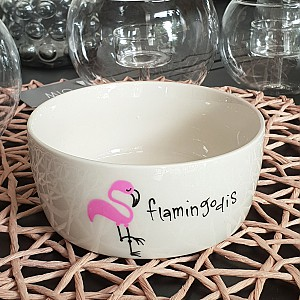 Bowl Flamingodis
