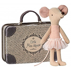 Maileg Mouse Ballerina in Suitcase