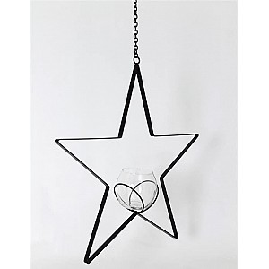 Hanging Candle Holder Bim Star