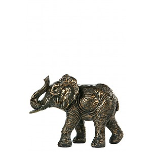 Crown Candlestick Elephant