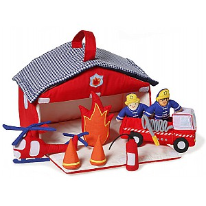 Fire Station in fabric
