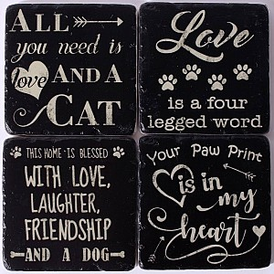 Coasters Cats & Dogs