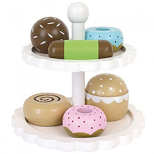 JaBaDaBaDo Cake Stand with cookies