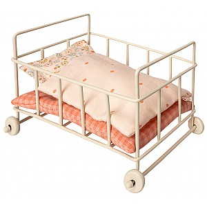 Maileg Metal Baby Cot Micro