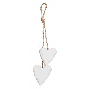 Hanging Heart Wood