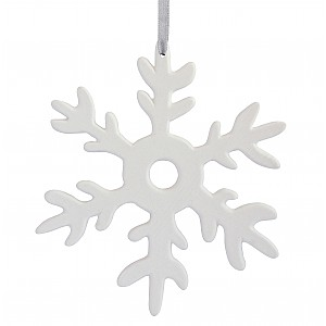 Ceramic Decoration Snowflake