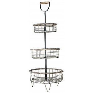 3-tier Wire Basket Stina