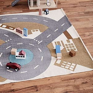 Kids Concept Play Rug City Aiden