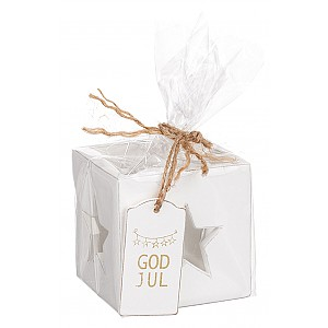 Candle Holder Star God Jul