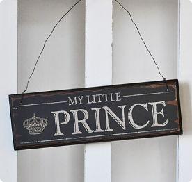Träskylt Prince