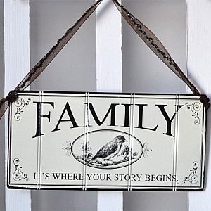 Tin Sign Family