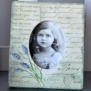 Photo Frame Lavender