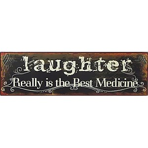 Tin Sign Laughter