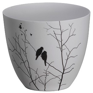 Candle Holder / Votive Birds - Medium
